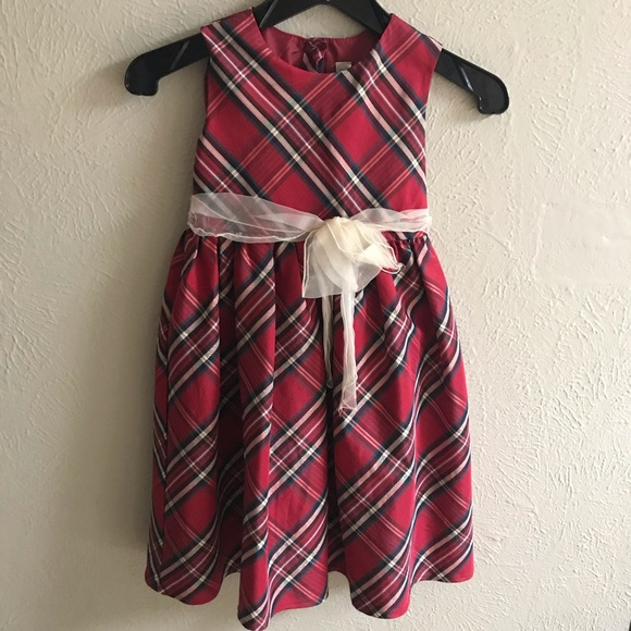 girls christmas plaid dress - Christmas Plaid Dress